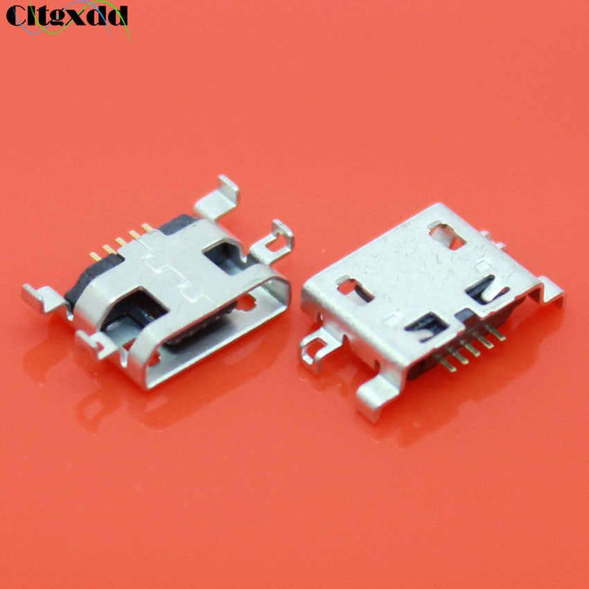 Cltgxdd Konektor Micro USB 5 PIN B Tipe Jack USB Pengisian Soket untuk Lenovo S720 A710E A298 A798t S680 A298T s890 S880 P700