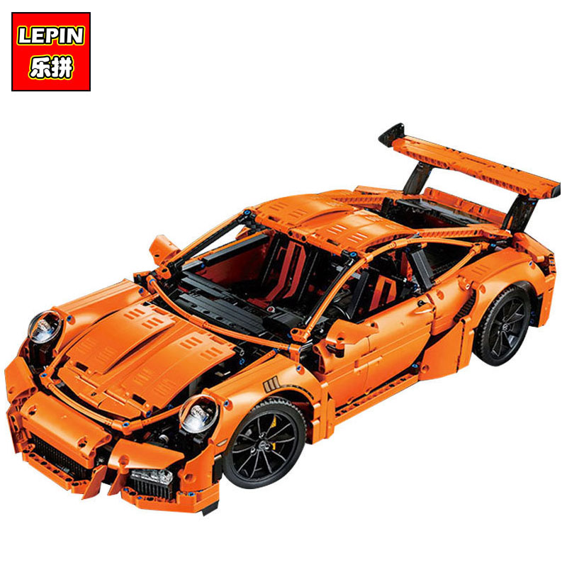 LEPIN 20001 20001B 2704PCS Technic Series DIY Model Building Kits Blocks Bricks Compatible With 42056 Boy's Toy Educational Gift a toy a dream lepin 15008 2462pcs city street creator green grocer model building kits blocks bricks compatible 10185