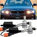 2X Free Error de Canbus Chip de Conversión Automática de Alta Calidad Para BMW E90 E91 323i 325i 328i xi xi LED Faros de luz Antiniebla Lámparas