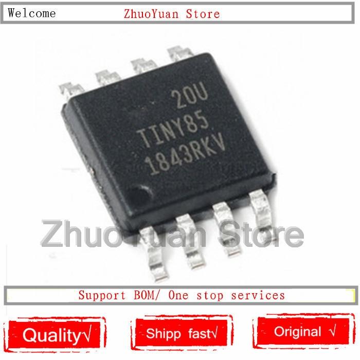 1 шт. /лот новый оригинальный ATTINY85-20SU TINY85 ATTINY85 лапками углублением SOP-8 8KB 20 МГц 8-битный IC чип