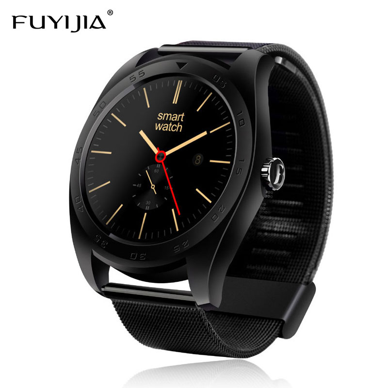 FUYIJIA Bluetooth Smart Watch Men Women Watches Waterproof Compatible with IOS Android Heart Rate Monitor Sports Watch Couple