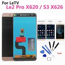 Le2 X527 X520 X522 LCD Für LeTV LeEco Le 2 Display Original LCD Touch Screen für LeEco S3 X626 LCD display Le 2 Pro X620 X526