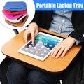 Kicute tablet bandeja de mesa cama almofada escritório joelho colo acessível leitura escrita suporte de copo mesa portátil travesseiro conjuntos de mesa da escola