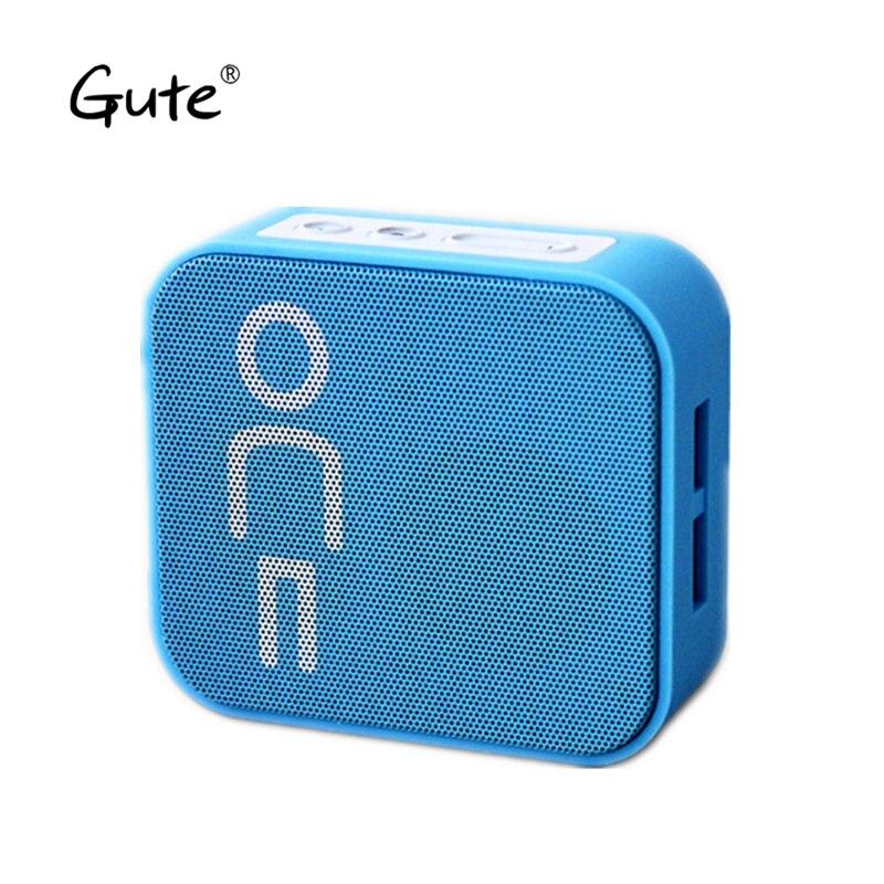 Gute quadrado venda quente Sem Fio Bluetooth speaker Portátil Altifalante Player alto falante caixa de som portatil mini-altavoz pb3 fã