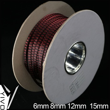 XSSH AUDIO HIFI Speaker Wire Accessory Shield Suspension Woven Copper Nylon 6mm 8mm 12mm 15mm Braided Cable Sleeving Sleeve Tube