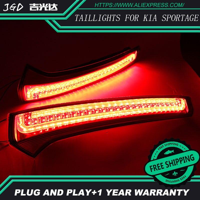Free Shipping Tail Light Parking Warning Rear Bumper Reflector For KlA Sportage Cerato SportageR Ceed 2007