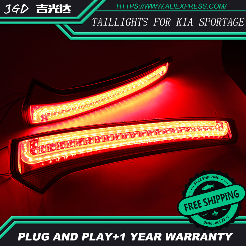 Free shipping Tail light parking warning rear bumper reflector for KlA Sportage cerato sportageR Ceed 2007-2014 taillights цена