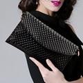 New PU Bling Women Bag Fasion Women Leather Handbag Nail Grain Shoulder Crossbody Bag  Sac a Main Designer Clutch Famous Brand