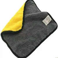 30*30 cm 1 stücke Auto Waschen Handtuch Säumen Auto Pflege Detaillierung Polieren Waschen Reinigung Trocknen Tuch