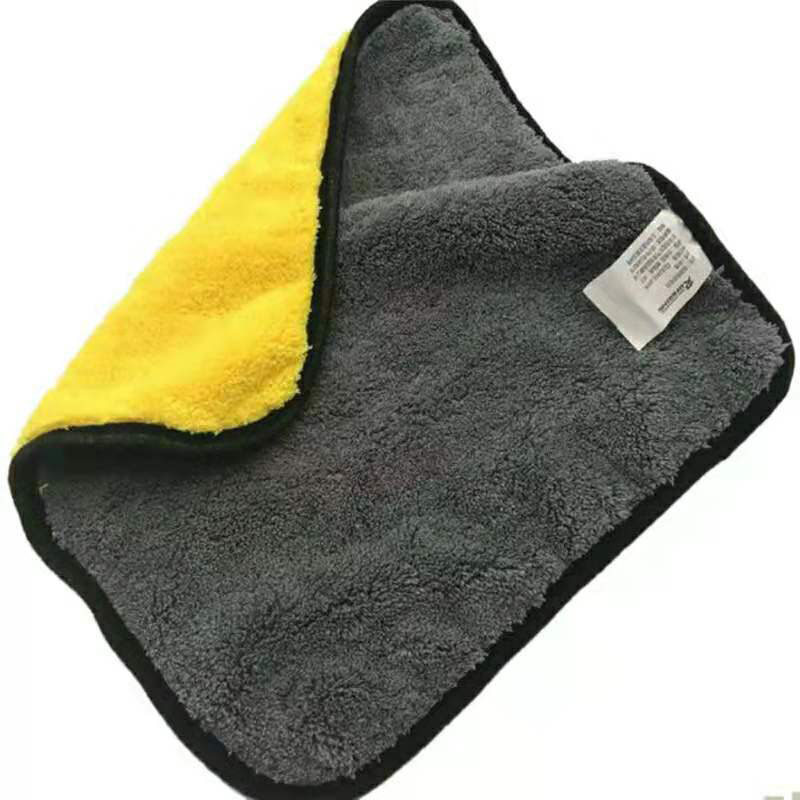 30*30cm 1pcs Car Wash Towel Hemming  Car Care Detailing Polishing Wash Cleaning Drying Cloth