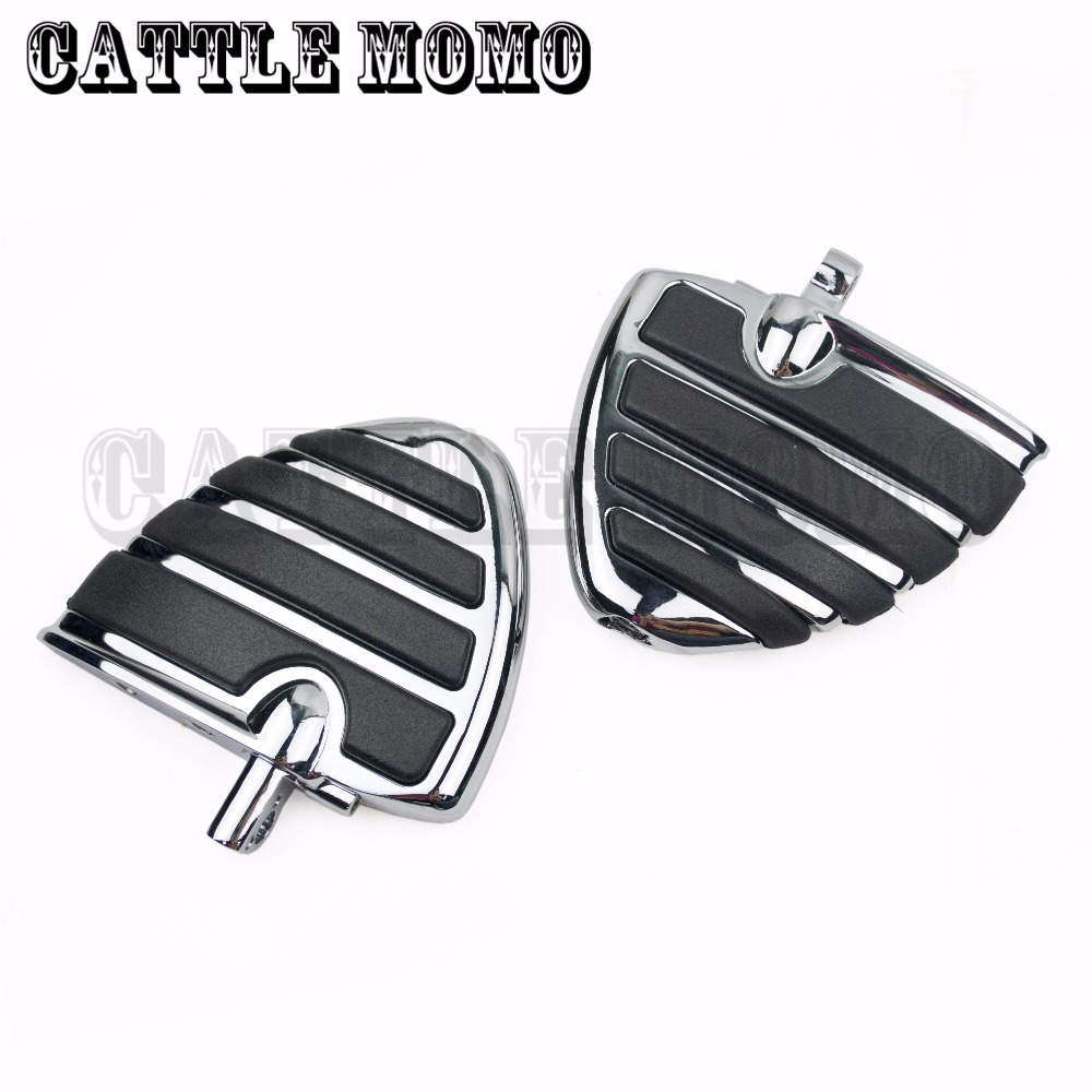 Aftermarket 1 1 1/4 Clamps WING Rider Foot pegs For Honda VLX600 DLX600 Shadow 600 VT600 Motorcycle Foot Pegs cover girl covergirl 835 4ml