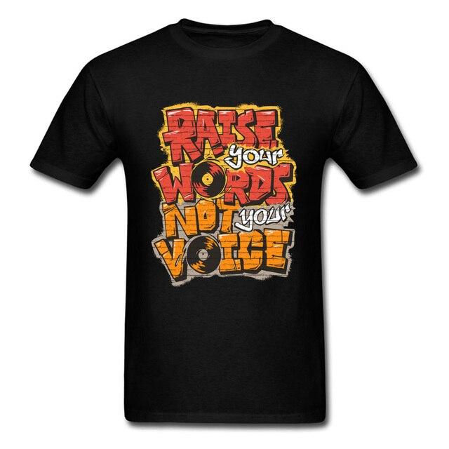 T-shirt Levez vos mots pas votre voix