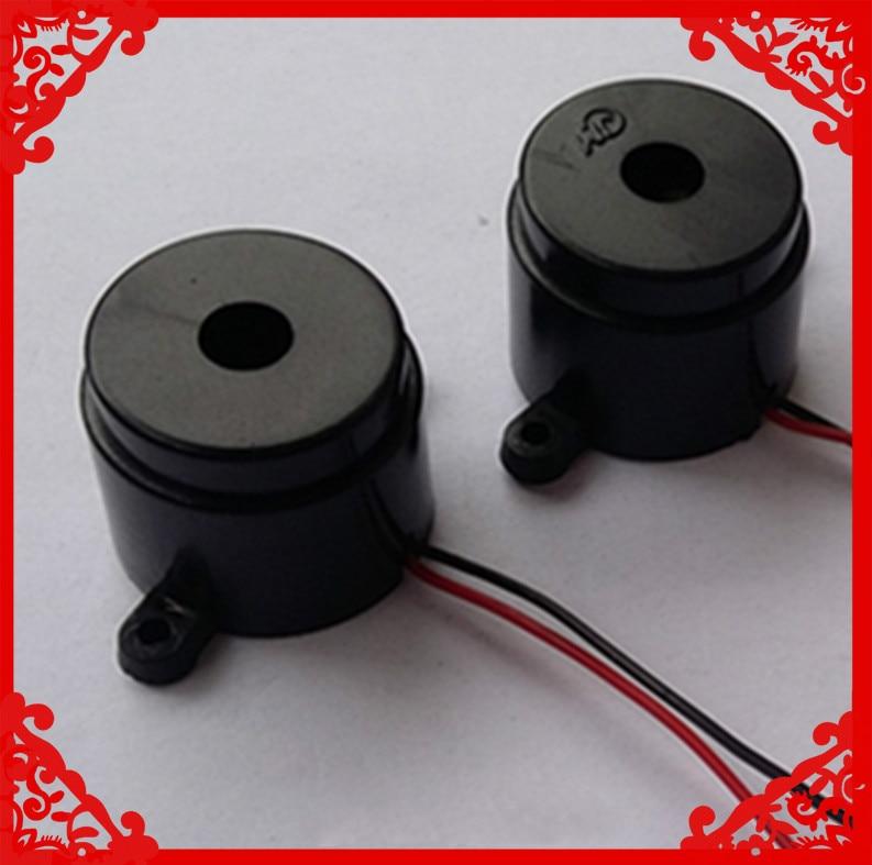 2pcs 1 inch Electronic buzzer Fire sound 24V diameter 30MM 24MM thick loud audio sound