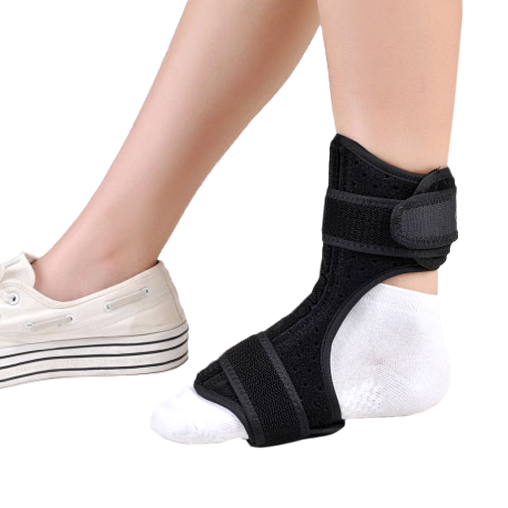 Medical Foot Drop Orthosis Support Nightime Brace Dorsal Aluminum Splint Plantar Fasciitis Ankle Sprain Achilles Tendinitis hand wrist orthosis separate finger flex spasm extension board splint apoplexy hemiplegia right left men women
