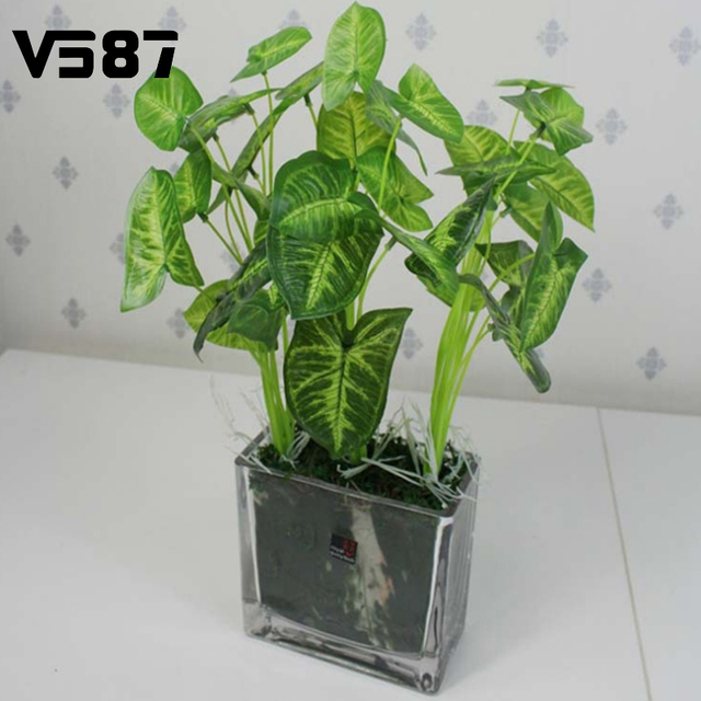 Buy Garden Decoration Green Leaves Potted