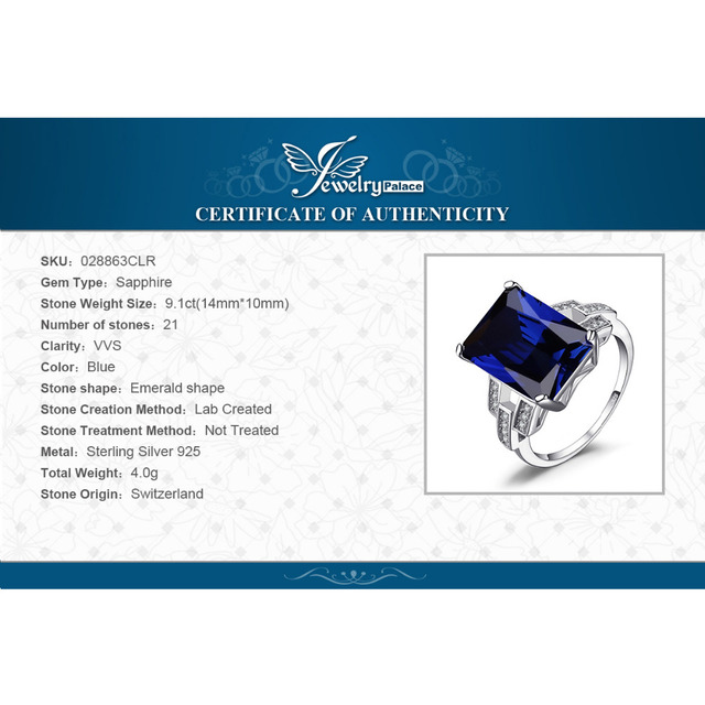 Luxury Sapphire Cocktail Ring