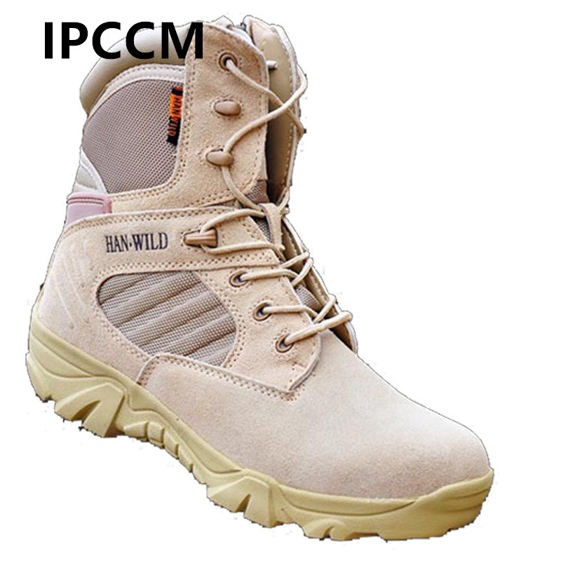 Winter Autumn Men Military Boots Quality Special Force Tactical Desert Combat Ankle Boots Army Work Shoes Side Zipper Snow Boots цены