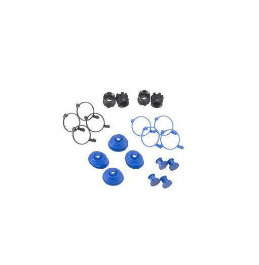 aluminum suspension arm set for the traxxas summit e revo and nitro revo vehicles Traxxas pivot ball caps dust boots plugs set 5378X model: 5378X for traxxas 1/10 E-REVO REVO slayer MAXX SUMMIT