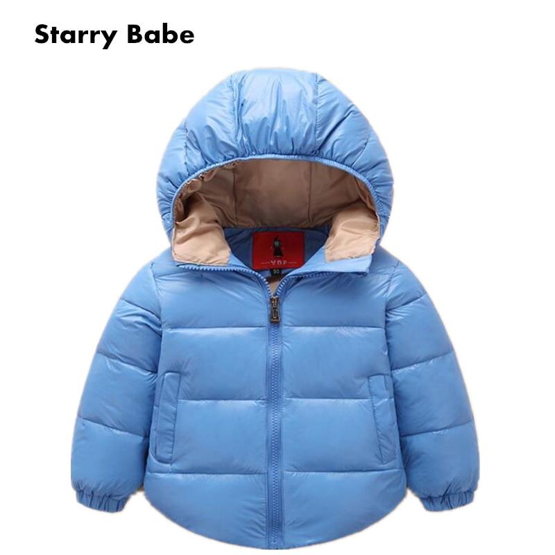 2018 Fashin Boys Girls 90% Warm White Duck Down Jackets - Մանկական հագուստ