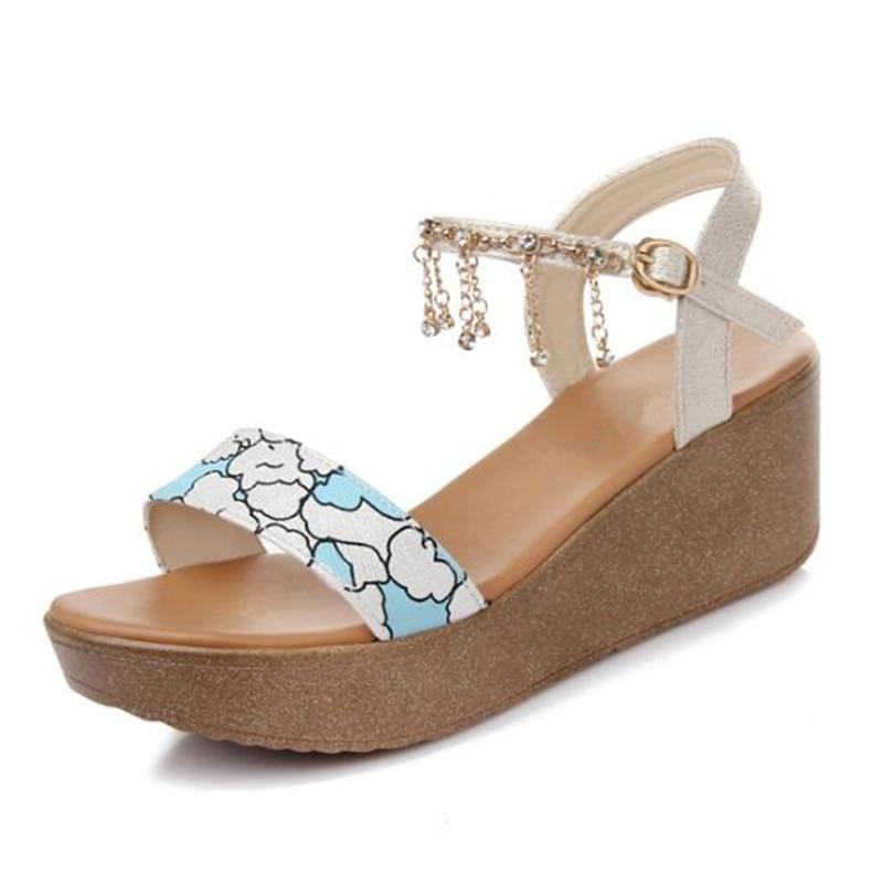 ac93316e230 2018-New-Tassel-Sweet-Rhinestone-Women-Shoes-Summer-Sandals-Platform-Wedges- Leather-Shoes-Fashion-Sandals-Summer.jpg