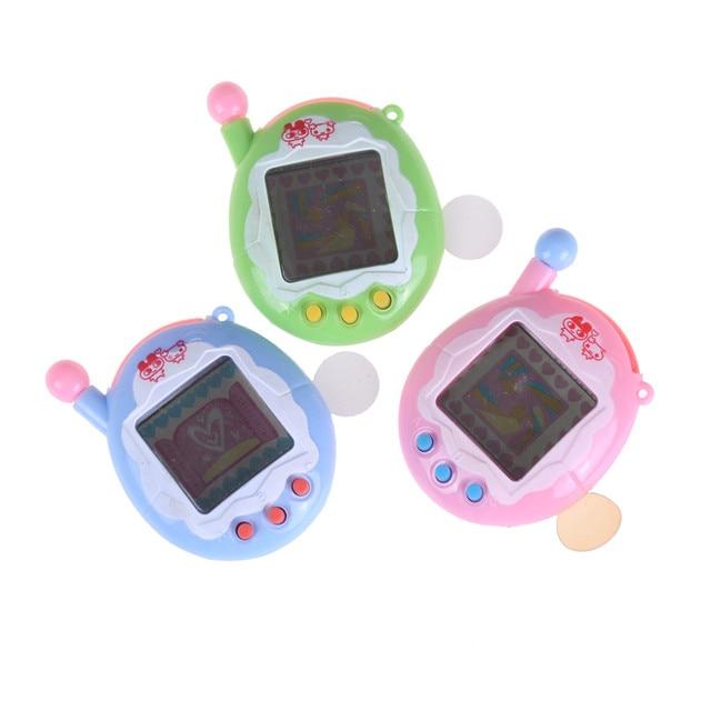 1pcs Virtual Pet Tamagot Elektronic Toys Virtual Cyber Pet Toy Funny  Keychain Christmas Electronic Pets Toys For Kids 457cceb27
