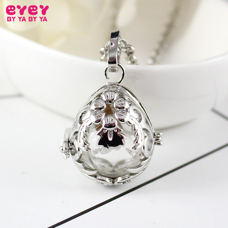 1PC Floral Teardrop Urn Glass Locket  Memory Locket  Urn Jewelry for Ash  Glass Urn Locket Pendant Jewelry locket