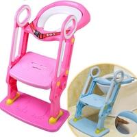 Child Toilet Seat Baby Toilet Seat Baby Toilet Ladder Portable Folding Kids Potty Toliet Ladder Closestool Seat Ladder Support