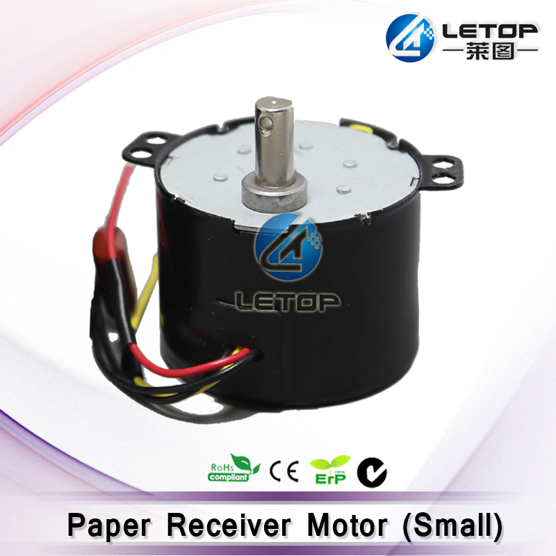 High Quality ECO Solvent Plotter Paper Take Up Motor for Mimaki JV33 Roland  Mutoh Paper Reel Engine Printer Spare Parts