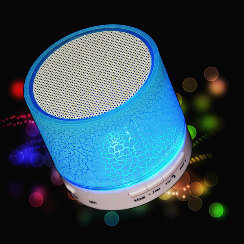1pcs Excellent Wireless Bluetooth Portable A9 USB Subwoofer Music Box Speaker Car Speaker Bluetooth Wireless Speaker Elegant