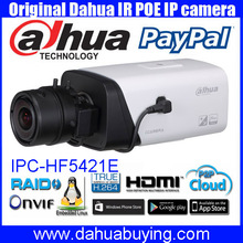 Original english Dahua CCTV 4MP WDR Smart Detection POE Full HD Network Camera IPC-HF5421E,free DHL shipping for DH-IPC-HF5421E
