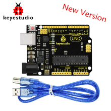 NEW Version! Keyestudio Super UNO R3 ATmega 328 Board Advanced MP2307DNSOP-8 +USB Cable For Arduino UNO R3 DIY Project keyestudio w5100 ethernet щит для arduino uno r3 mega 2560