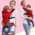Baby Ergonomic Backpack Carrier Toddler Breathable Cotton Multifunctional Front & Back Carry Sling Labor-saving Suspender belt