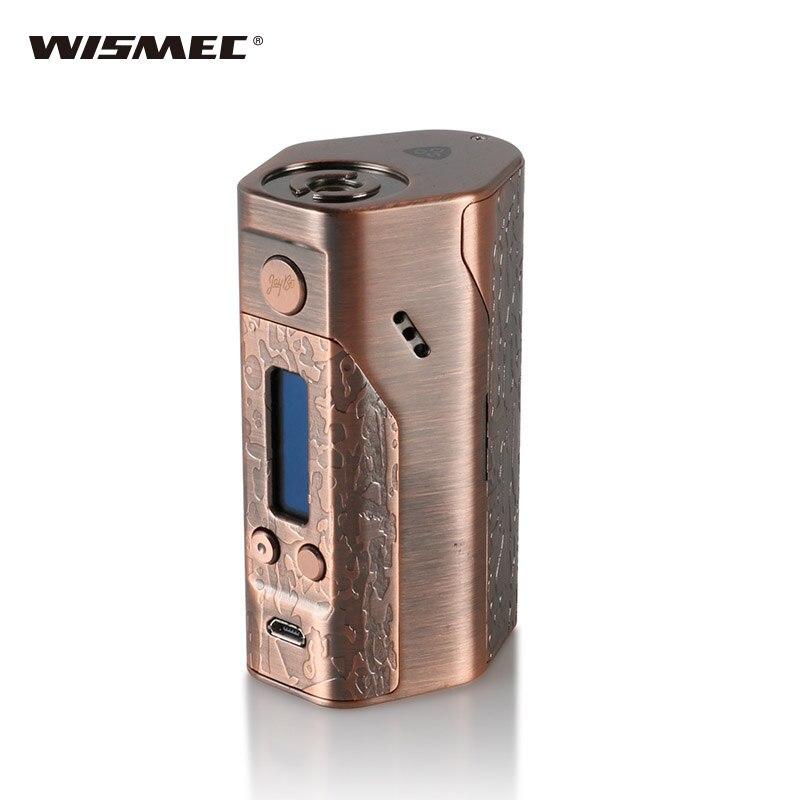 (Version limitée) original Wismec Reuleaux Evolv DNA200 boîte MOD nécessaire 18650 piles E-cigarette boîte Mod Ecigs boîte à vapeur Mod