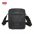 2016 homens de negócios sacos de ombro do vintage casuais pequenos sacos de nylon marca ipad novo macho preto saco crossbody sacos do mensageiro