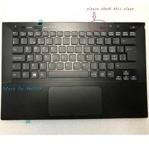 Чехол Tastatur для sony Vaio, чехол для телефона SVS13AA11M, с подсветкой, швейцарская клавиатура, сенсорная панель