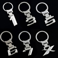 Zinc Alloy Car Logo Key Chain Key Ring Keyring For BMW X/1/3/5 6/7/8 Key Holder Free Shipping