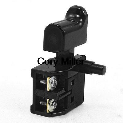Power Tool Electric Drill Trigger Switch SPST Single Pole AC 250V/6A AC 125V 12A power tool push lock button trigger switch dpst dual pole ac250v 6a