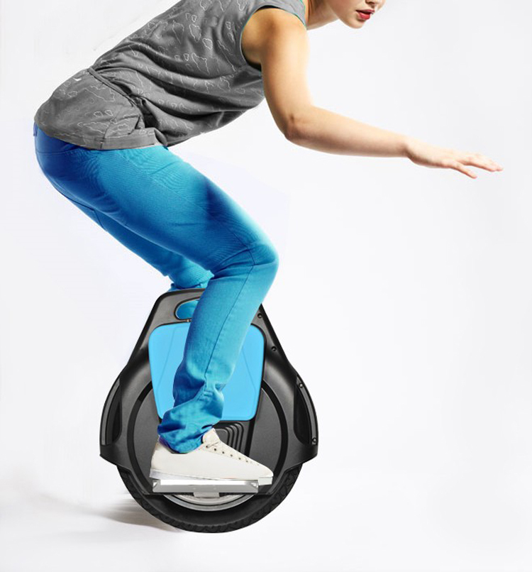 New Air Hollow Single Wheel Wheelbarrow Headlights Electric Skateboard Self Balancing One Alone Unicycle Standing Scooter In Balance Scooters
