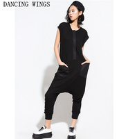 Summer Rompers Womens Jumpsuit 2018 Sexy Ladies Casual Elegant Sleeveless Long Trousers Overalls Black Jumpsuit