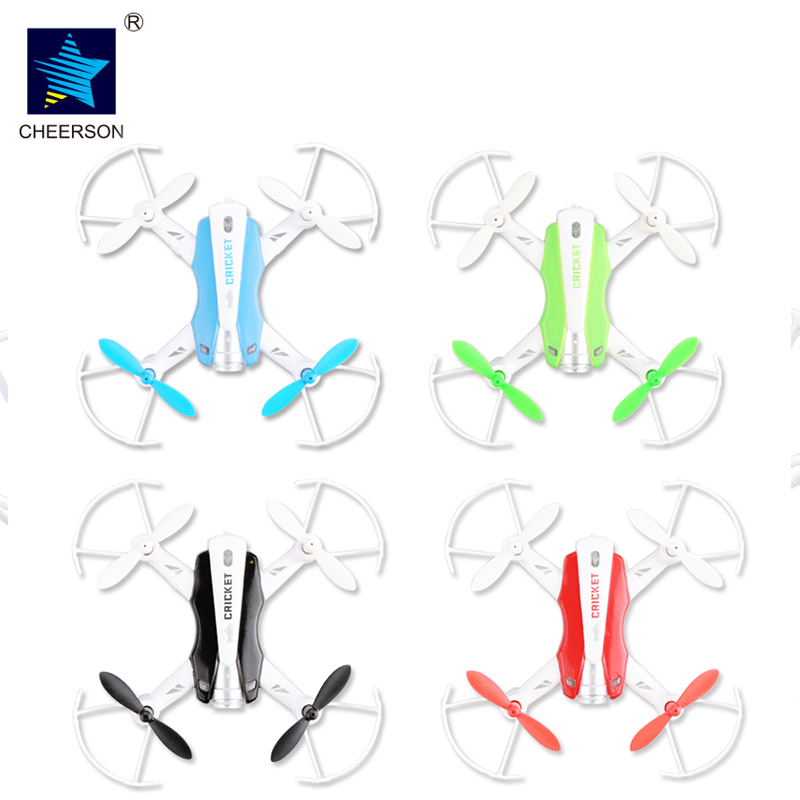 Cheerson CX-17 WIFI FPV RC MIni Drone 2.4GHZ 4CH With Wifi Real Time CRICKET Mini RC Selfie Drone With HD WIFI Camera cheerson cx 17 cricket mini wifi fpv rc quacopter rtf blue