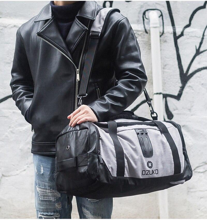 Compre 21in Sport Bag Para Fitness Hombre Entrenamiento Gym Bag Shoe ... 8f101501ab298