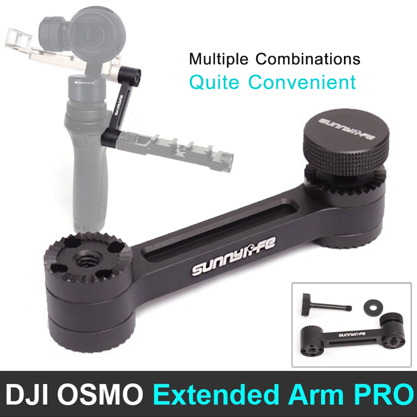 DJI OSMO extended arm assembly PRO version & DJI OSMO accessories Camera 3-Axis Handheld Gimbal Parts free shipping