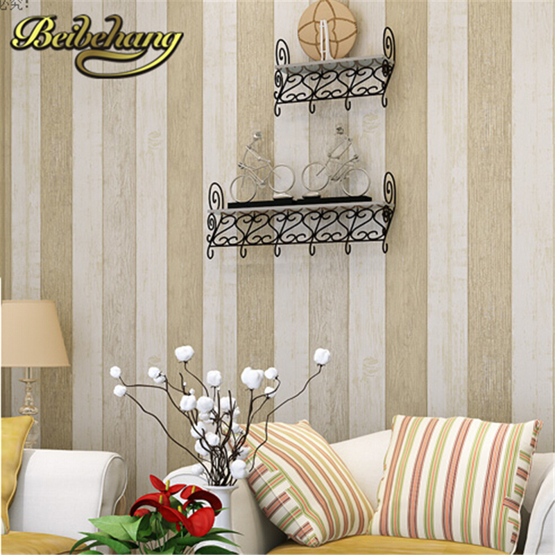 beibehang wallpaper Modern Striped Wallpaper roll Papel De Parede Photo For Wall paper Mural Decorative 3D Living room Bedroom lexing lx r7s 2 5w 410lm 7000k 12 5730 smd white light project lamp beige silver ac 85 265v
