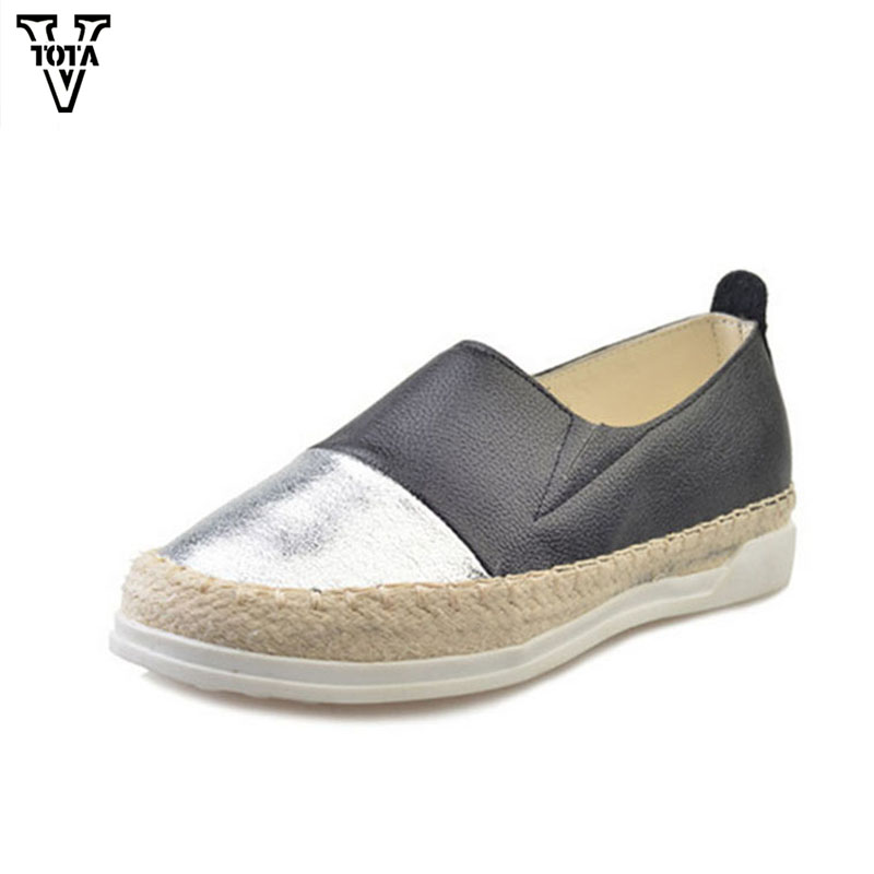 VTOTA Mixed colors Shoes Woman Loafers Platform Shoes Slip On Retro women shoes Comfortable Round Toe Casual Student Flats N46 spring new slip on flats woman shoes summer autumn fashion casual women shoes comfortable round toe loafers shoes 7d46