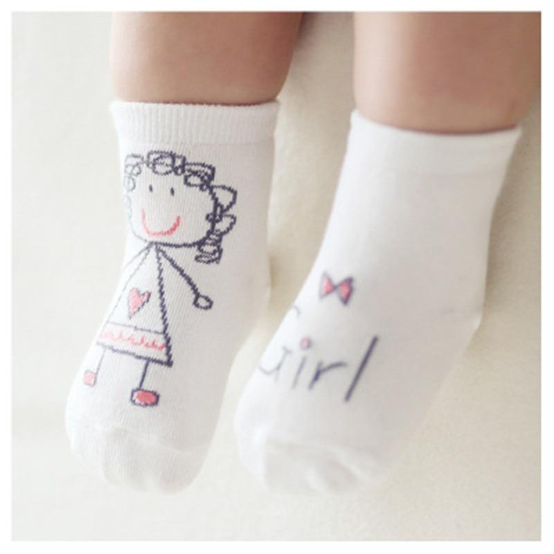 Cute Baby Socks For Newborn Spring Print Autumn Pattern Baby Socks Newborn Cotton Baby Boys Girls Cute Toddler Socks For Babies