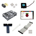 "Starter Kit Elecrow para Raspberry Pi 3 Modelo B 3.5 ""Pantalla táctil + WiFi 150 Mbps 11n Adaptador USB + 9 Capas caja de la Caja + GPIO"
