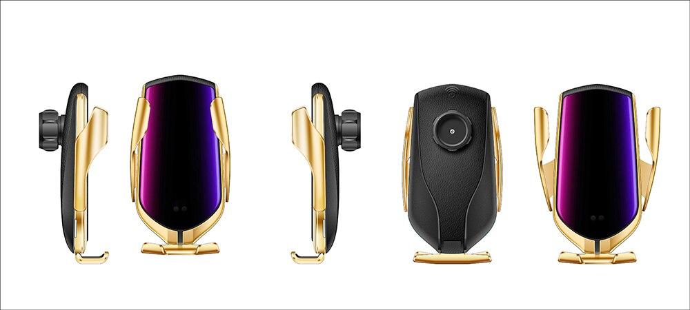 概念车载智能无线充支架-金色2