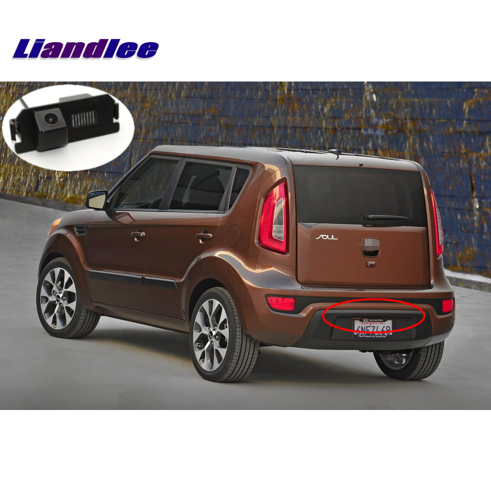 Liandlee Car Backup Parking Camera For Kia Soul 2009 2013 Rear View Rearview Reverse Camera Integrated SONY CCD HD in Vehicle Camera from Automobiles Motorcycles