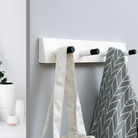 Wall Hook Creative Kitchen Bathroom Hanger Hook Home Organizer Accessory for The Modern Home Adhesize Hooks Key Holder
