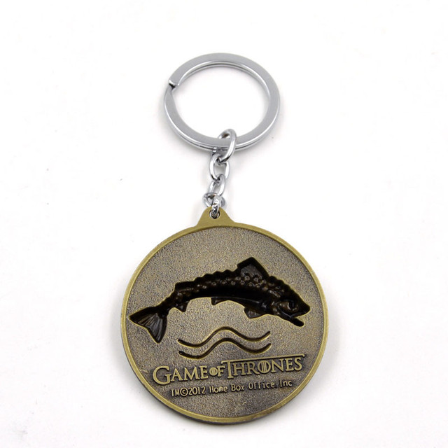 House Tully Family Keychain